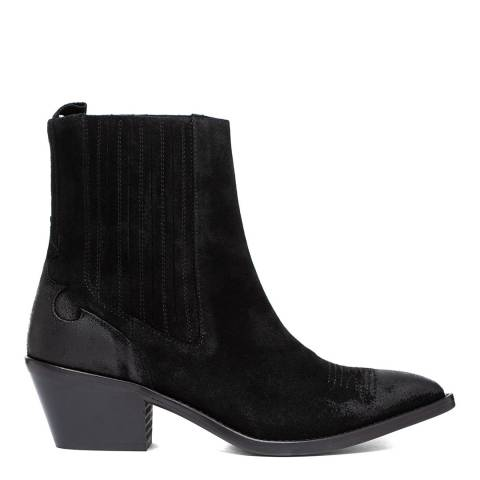 Oliver Sweeney Black Santana Western Chelsea Boots
