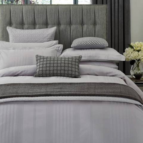 Peacock Blue Sakala Double Duvet Cover, Platinum