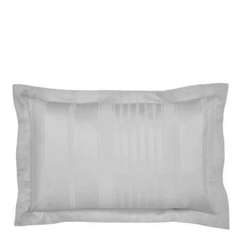 Peacock Blue Sakala Oxford Pillowcase, Platinum