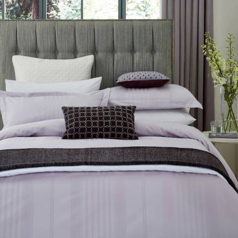 Peacock Blue Sakala King Duvet Cover, Amethyst