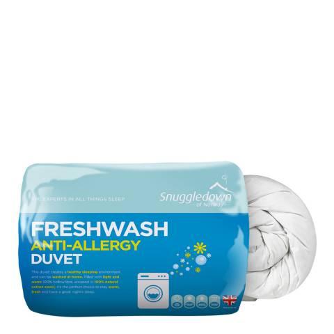 Snuggledown Fresh Wash Anti Allergy 10.5 Tog Single Duvet