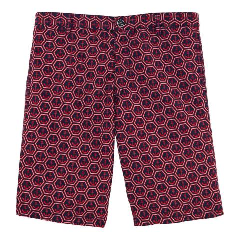 Vilebrequin Burgundy Fitted Shorts
