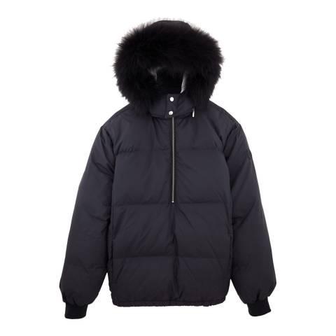Vilebrequin Navy Lightweight Puffer Coat