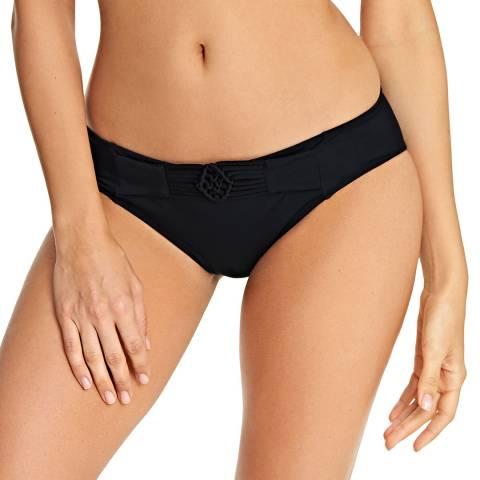 Freya Black Macrame Bikini Brief