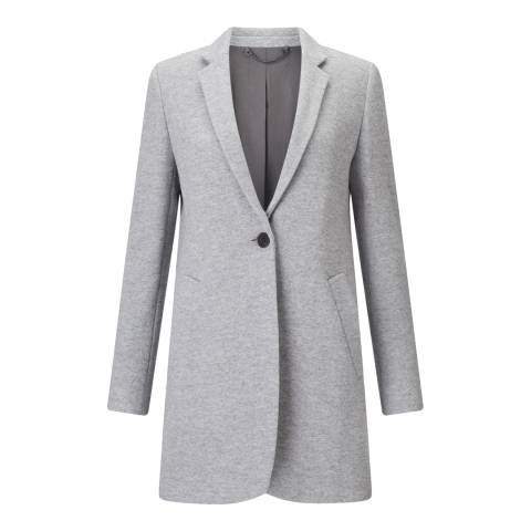 Jigsaw Grey Tailored Coat