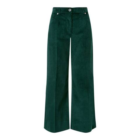 Jigsaw Deep Green Hoxton Cord Trousers