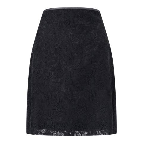 Jigsaw Navy Lace Mini Skirt