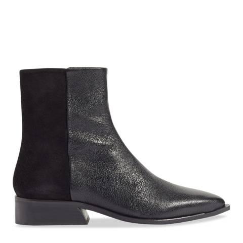 Jigsaw Black Haru Flat Cowboy Boots