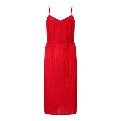 Jigsaw Red Slip Dress