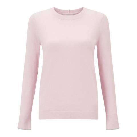 Jigsaw Pink Cashmere Blend Jumper
