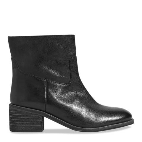 Jigsaw Black Sienna Block Heel Boots