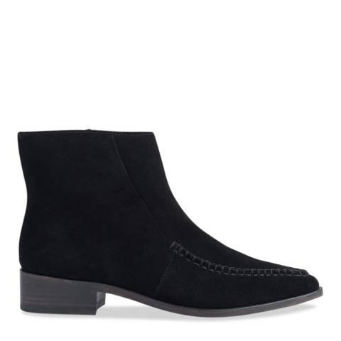 Jigsaw Black Taro Stitched Cowboy Boots