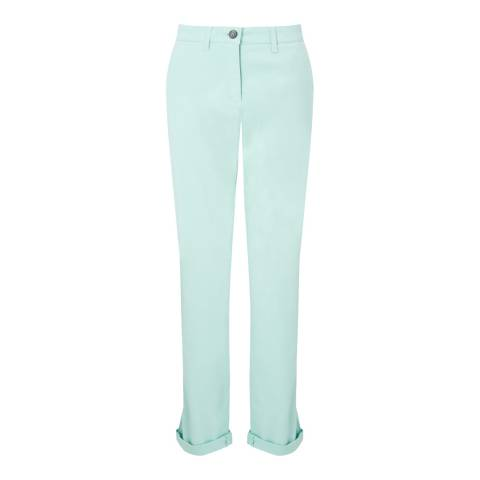 Jigsaw Aqua Cotton Slim Leg Chino