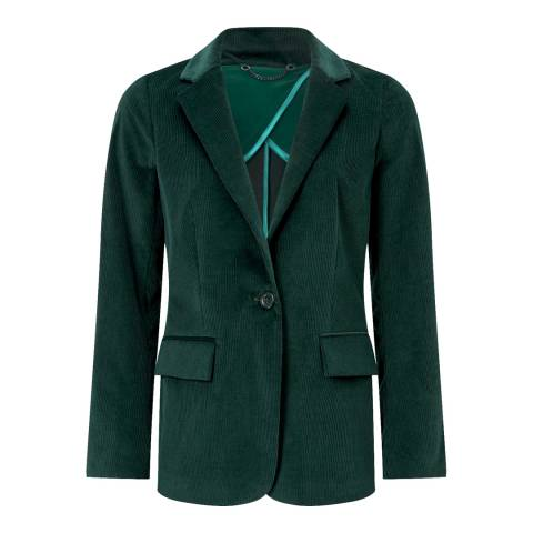 Jigsaw Green Cord Button Blazer