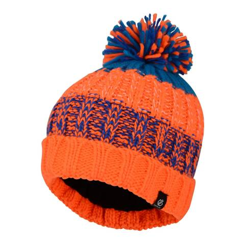 Dare2B Orange/Blue Logical Beanie