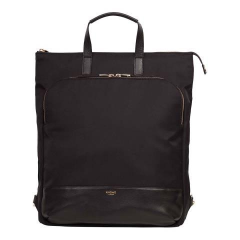 Knomo Black Mini Beaufort Backpack 12 Inch
