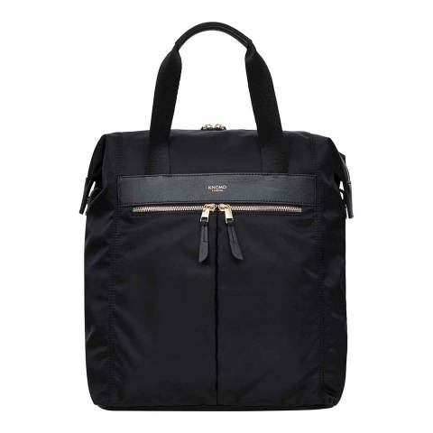 Knomo Black Mini Chiltern Totepack 12 Inch