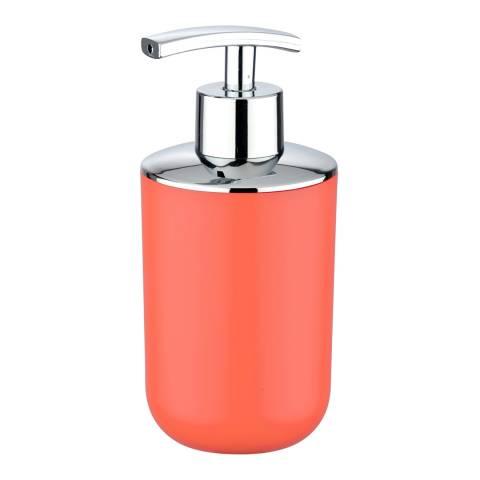 Wenko Brasil Soap Dispenser, Coral