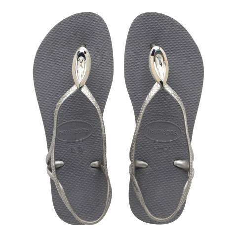 Havaianas Steel Grey Luna Special Flip Flop
