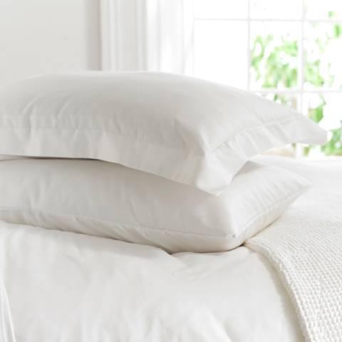 The Lyndon Company 800TC King Oxford Pillowcase, White