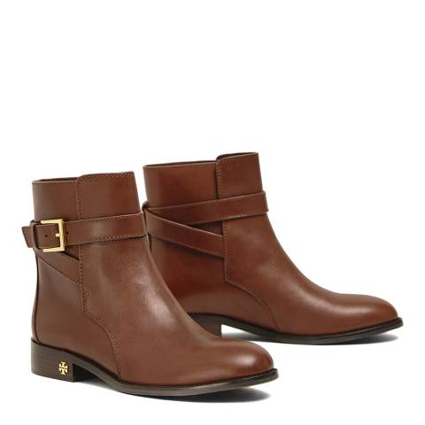 Tory Burch Perfect Brown Brooke Ankle Bootie