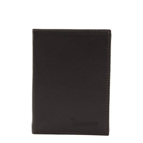 Billionaire Men's Brown Leather Wallet