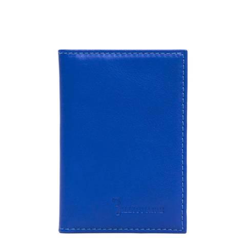 Billionaire Men's Blue Leather Wallet