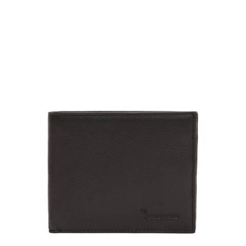 Billionaire Men's Black Leather Wallet