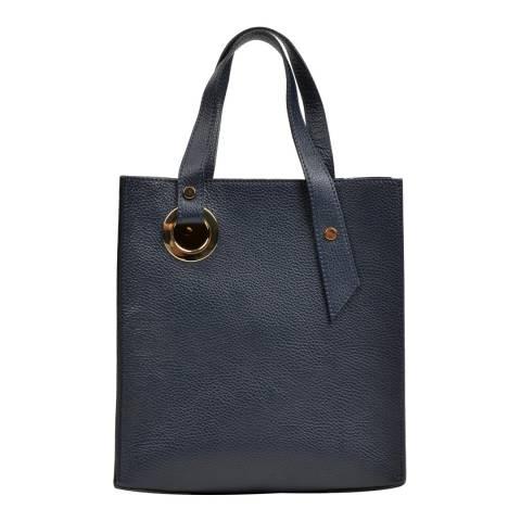 Roberta M Blue Leather Handbag