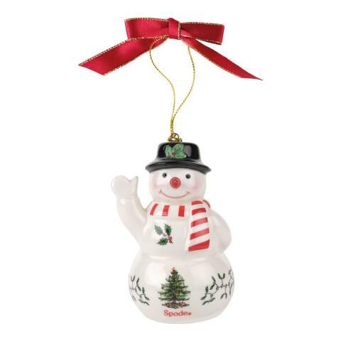 Spode Christmas Tree Snowman Decoration