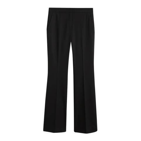 Mango Black Flared Trousers