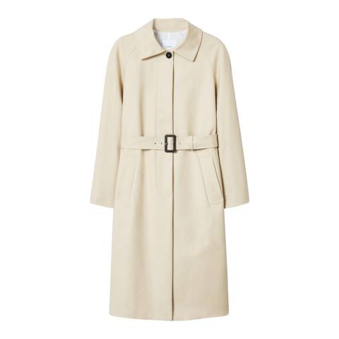 Mango Beige Adjustable Belt Trench