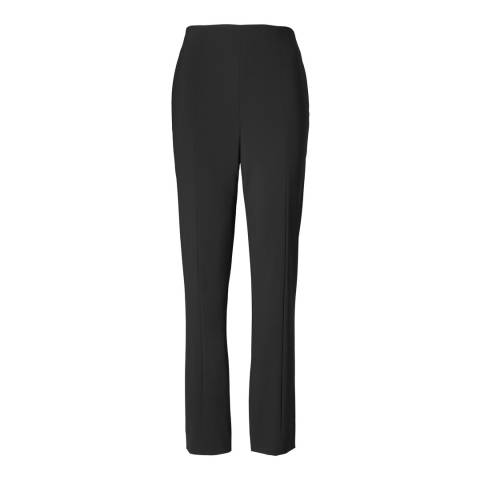 Tory Burch Black Skylar Fitted Trousers