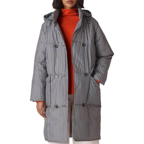 WHISTLES Multi Check Puffer Coat