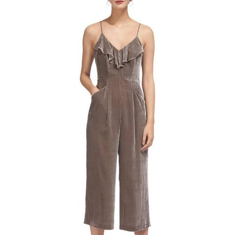WHISTLES Silver Florence Jumpsuit