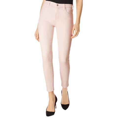 J Brand Light Pink Alana Skinny Stretch Jeans