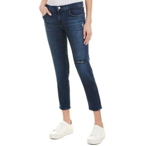 J Brand Indigo Sadey Slim Straight Stretch Jeans