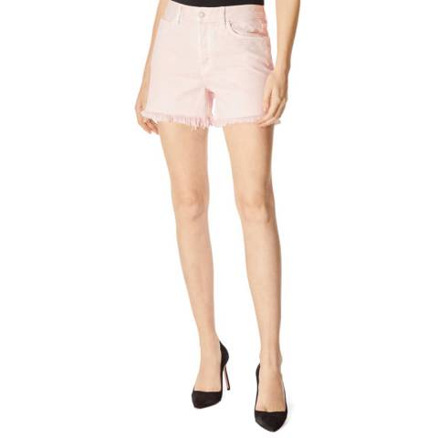 J Brand Light Pink Gracie High Rise Shorts
