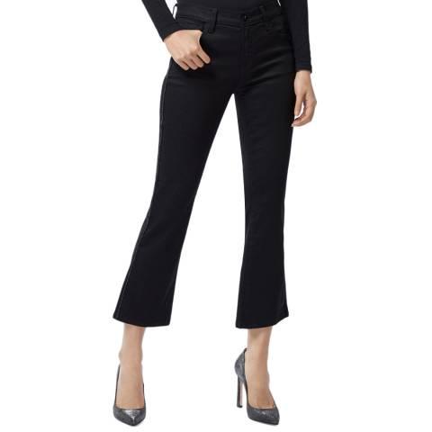 J Brand Black Selena Bootcut Stretch Jeans