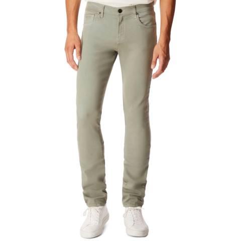 J Brand Green Tyler Slim Fit Jeans