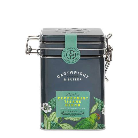 Cartwright & Butler Peppermint Tisane Loose Leaf Tea Caddy