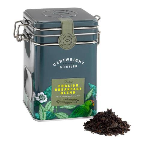 Cartwright & Butler English Breakfast Loose Leaf Tea Caddy