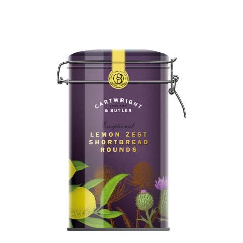 Cartwright & Butler Lemon Zest Shortbread Rounds Tin