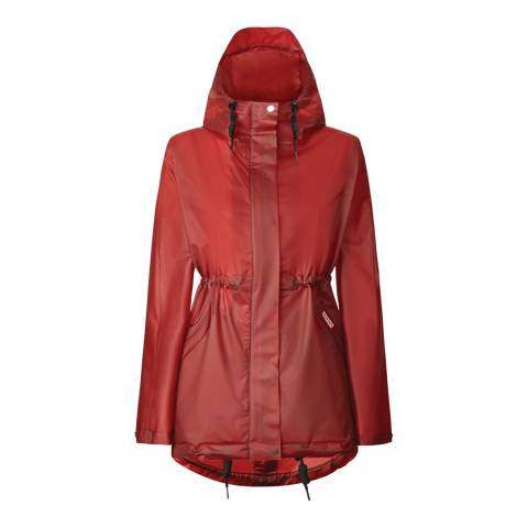 Hunter Military Red Vinyl Smock