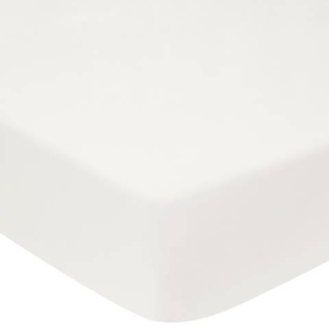 Sheridan 1000TC  Double Fitted Sheet, Chalk