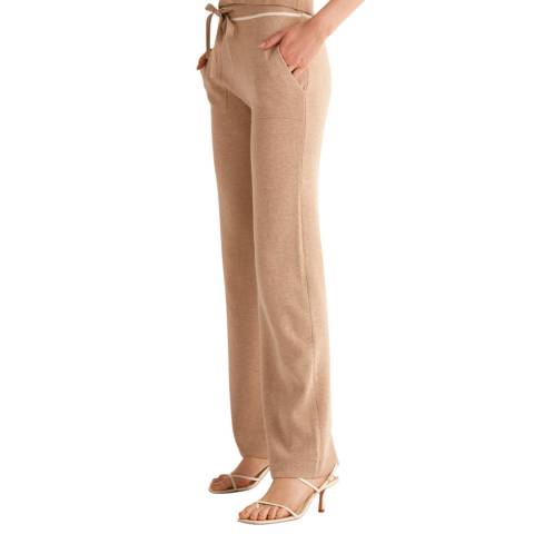 Rodier Beige Relaxed Trousers