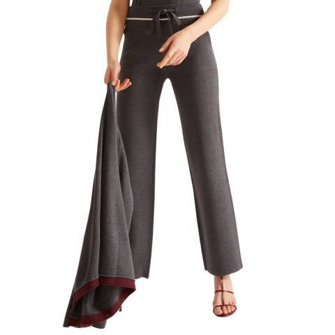 Rodier Dark Grey Relaxed Trousers