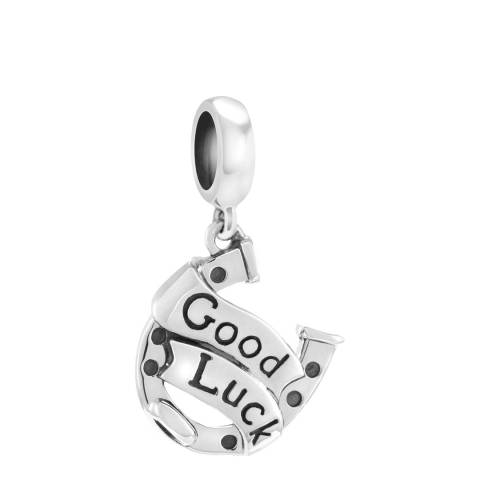 Chamilia® Sterling Silver Lucky Horseshoe Drop Charm