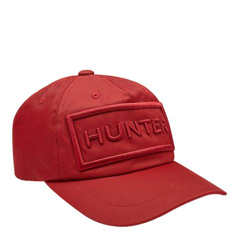 Hunter Kids Military Red Nylon Baseball Cap