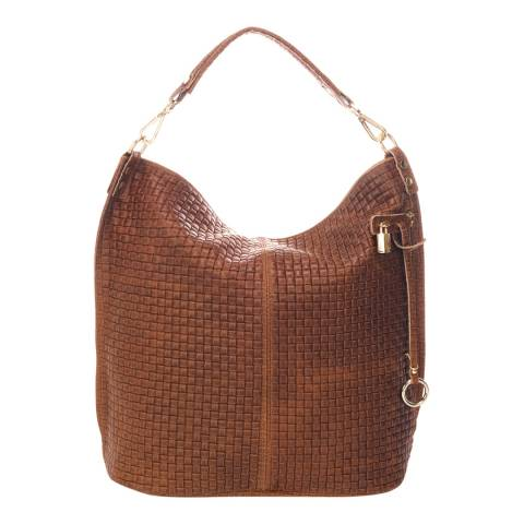 Giorgio Costa Brown Leather Shoulder Bag